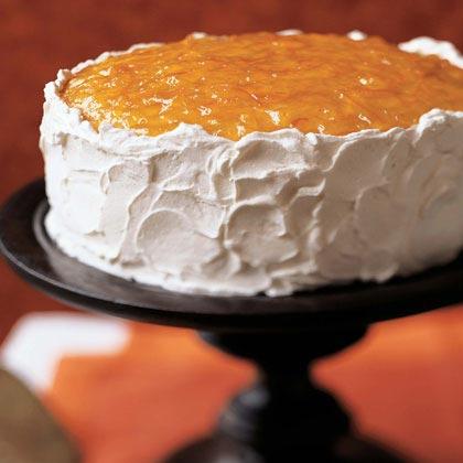 Orange Marmalade Layer Cake