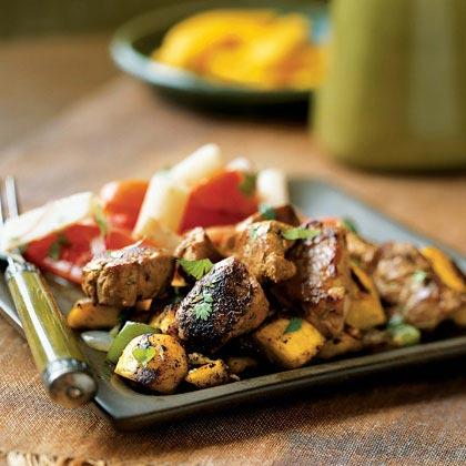 Caribbean Pork and Plantain Hash