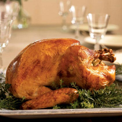 Farmhouse Roast Turkey with Rosemary Gravy