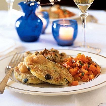 Mashed Potato Latkes with Zucchini and Dill