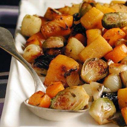 Marsala-Glazed Winter Vegetables