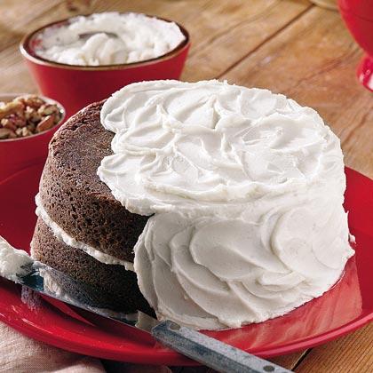 Chocolate Velvet Cake With Vanilla Buttercream Frosting