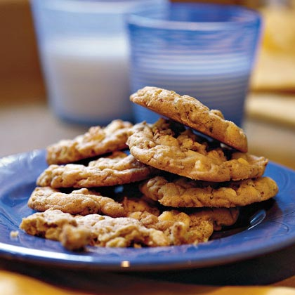 White Chocolate Chip-Oatmeal Cookies