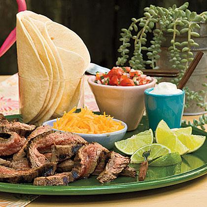 Beef Fajitas With Pico de Gallo