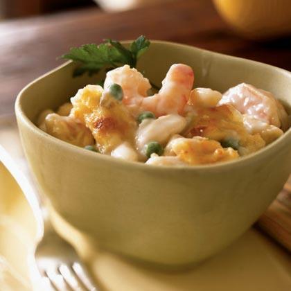 Creamy Gruyère and Shrimp Pasta