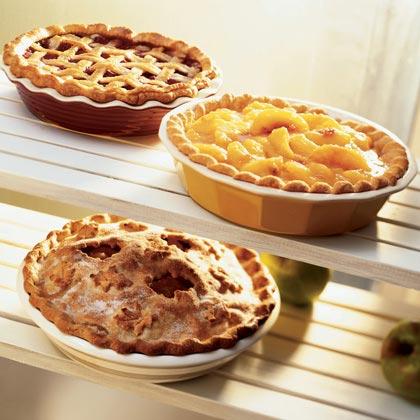 Sunglow Apple-Lemon Pie