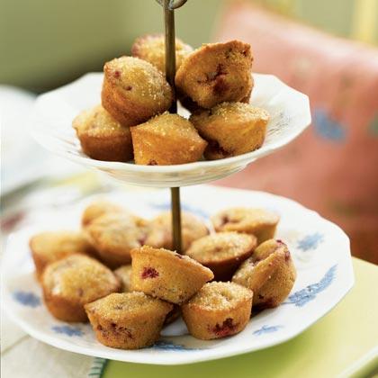 Raspberry-Almond Muffins