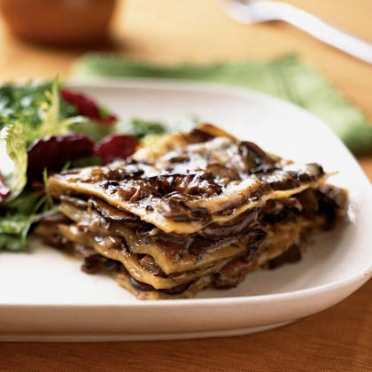 Mushroom Lasagna with Creamy Béchamel