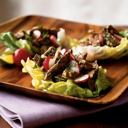 Thai Beef and Radish Salad
