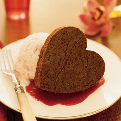 Romantic Brownie Sundaes