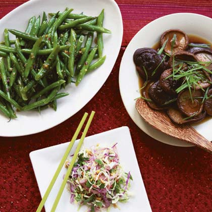 Thai-Style Cabbage Slaw