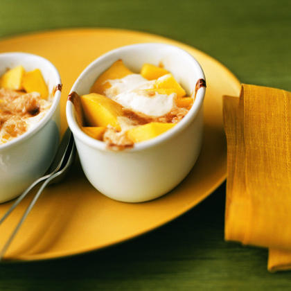 Mango Gratin
