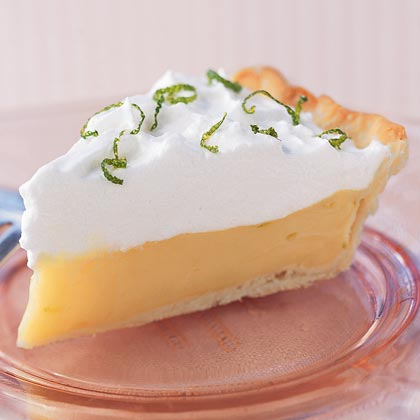 Mango-Lime Icebox Pie