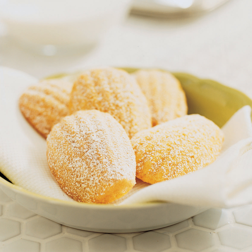 Orange-Spice Madeleines