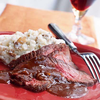 Saucy Sirloin Steak