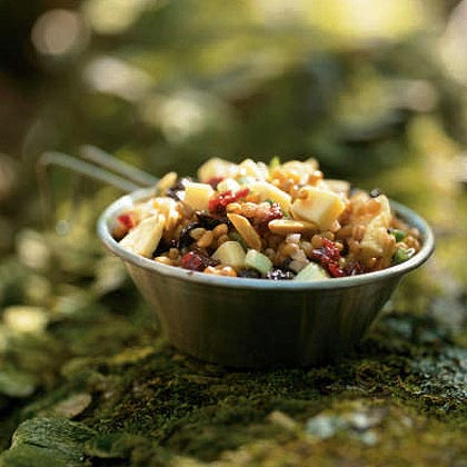 Wheat Berry Salad with Dried Fruit