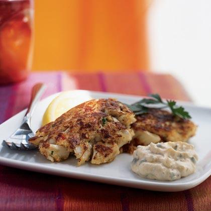 Louisiana Crab Cakes with Creole Tartar Sauce
