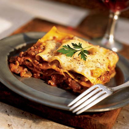 Lazy Lasagna Bolognese