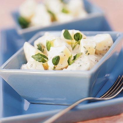 Warm Potato-Watercress Salad