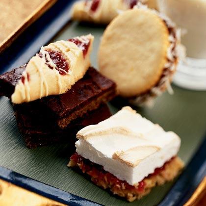 Mocha-Marmalade Shortbread Bars