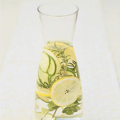 Herb-infused Spa Water