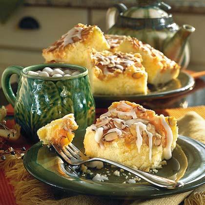 Apricot-Almond Coffee Cake