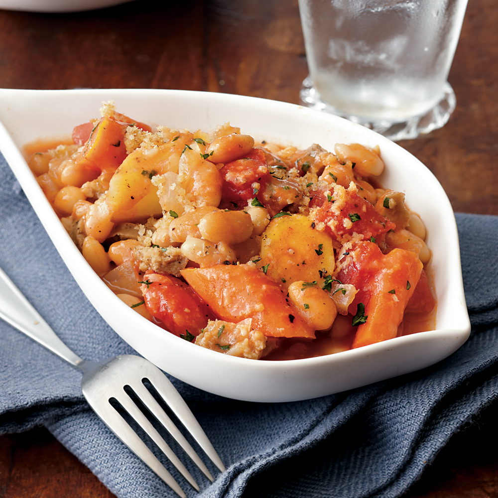Thyme-Scented White Bean Cassoulet