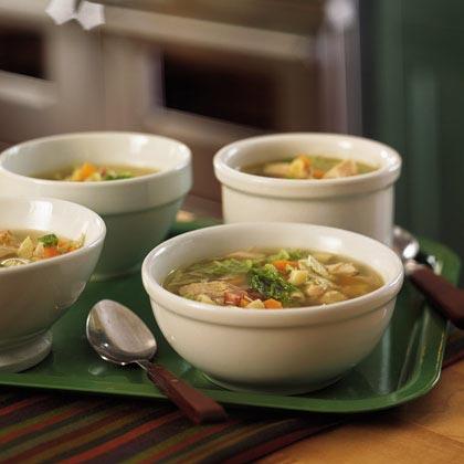 Turkey-Pasta Soup