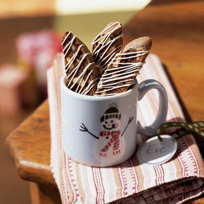 White Chocolate-Cashew Coffee Biscotti