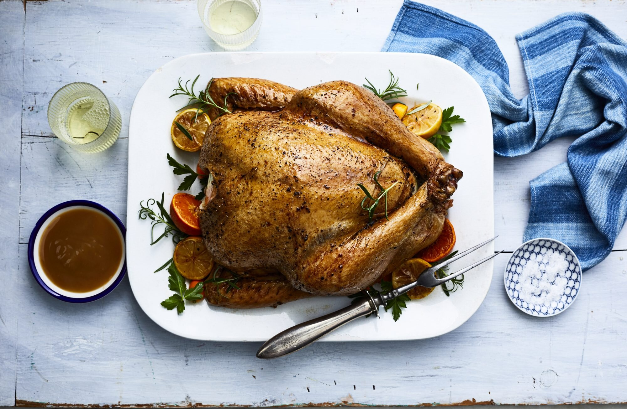 Classic Roast Turkey Recipe Myrecipes