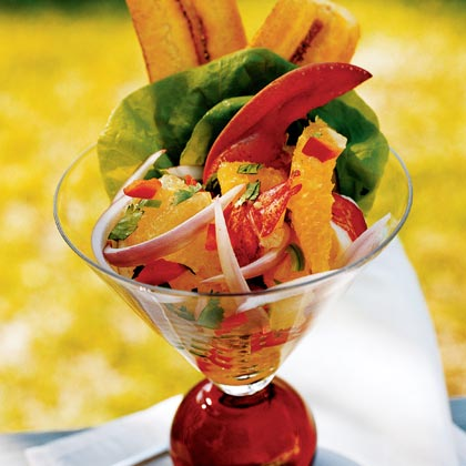 Lobster Martinis with Citrus Salsa