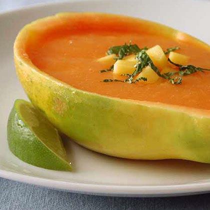 Papaya Lime Soup