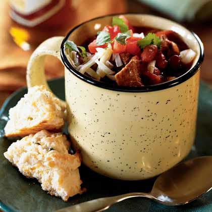 Chunky Two-Bean and Beef Chili