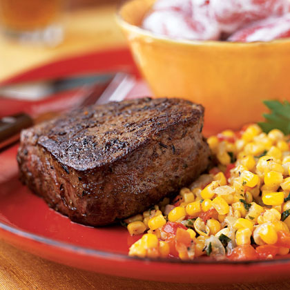 Beef Tenderloin Steaks with Creole Spice Rub