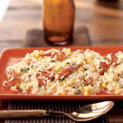 Lobster and Corn Risotto