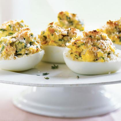 French-Style Stuffed Eggs