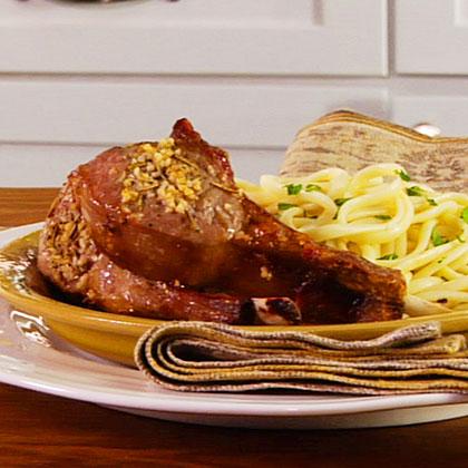 Garlic-Rosemary Lamb Chops