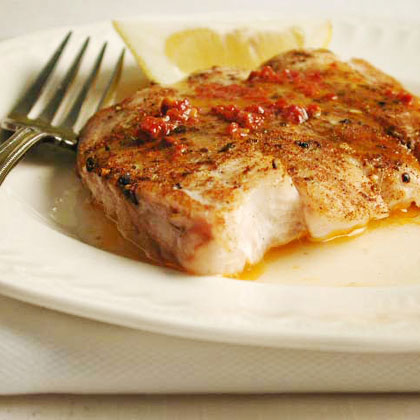 Baked Snapper with Chipotle Butter