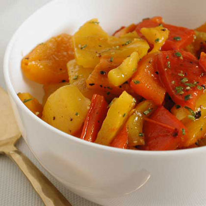 Roasted Pepper and Rosemary Relish