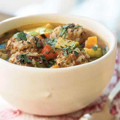 Grandma Salazar's Albóndigas Soup