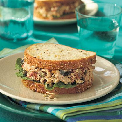 Mediterranean Tuna Sandwiches