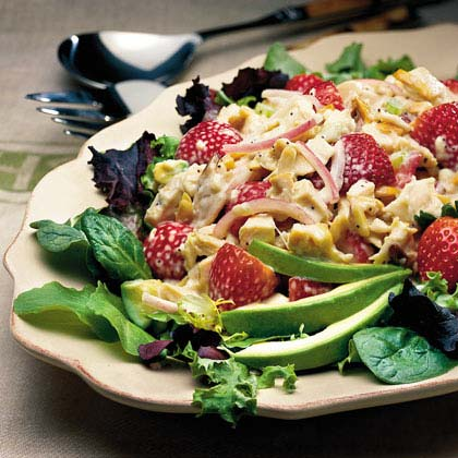 Chicken-and-Strawberry Salad