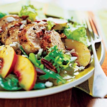 Grilled Chicken and Nectarine Salad