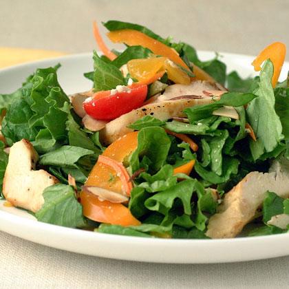 Orange Chicken Salad with Feta