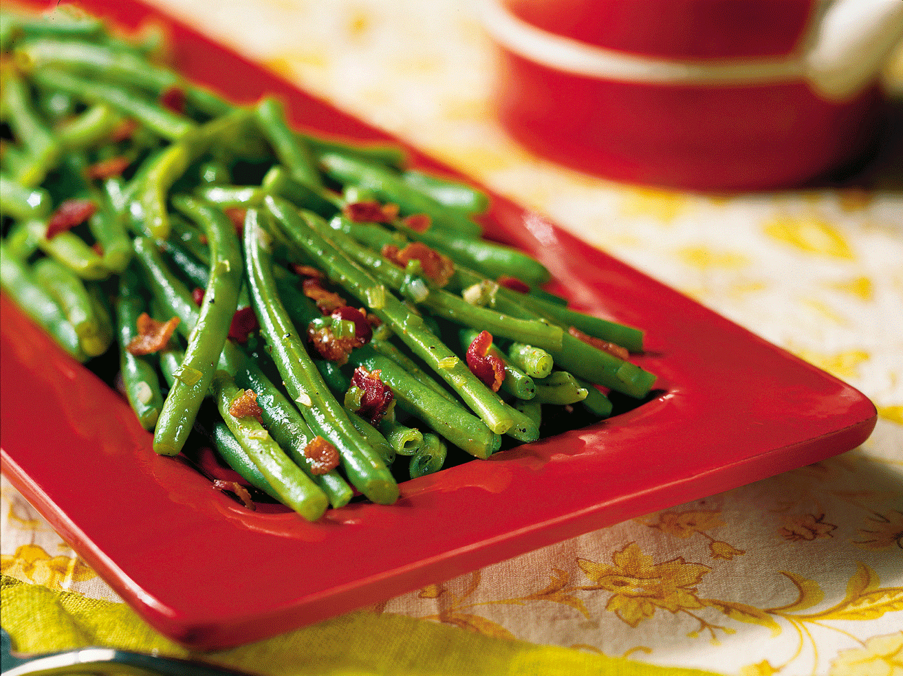 Sautéed green beans with bacon SL (enlarged)