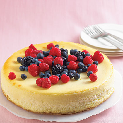 Creamy Vanilla Cheesecake