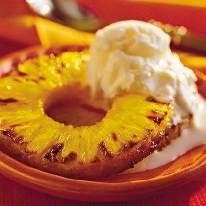Brown Sugar-Baked Pineapple