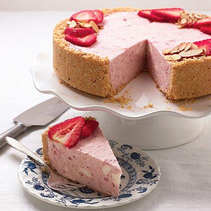 Strawberries and Cream Semifreddo