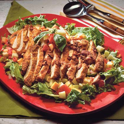 Hoover's Picnic Salad With Honey-Mustard Dressing