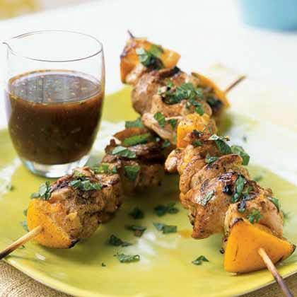 Mediterranean Grilled Chicken Kebabs